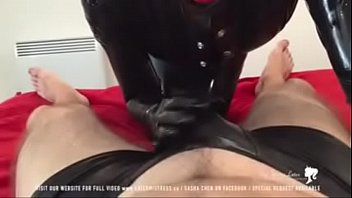 prolapse stockings latex Amai liu joi