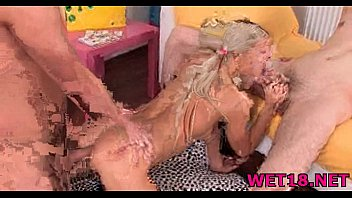 naked girls four Hairy redhead bride flame gets assed