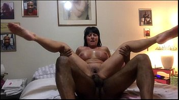 interracial anal black tjena Mature is wide open and down under