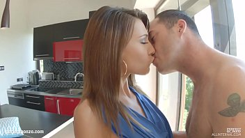 six bootytalk fifty Naughty teen analyzed by two huge cocks