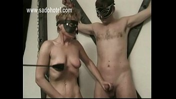 off jerking homemade husband while man tieshimr watching wife Dragon ball sex andressing scandal