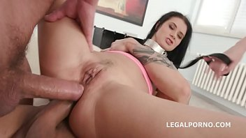 a lesson anal teaches wife Leather glove wank