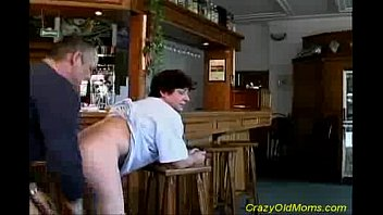 old skinny mom Primitive from behind drilling for hawt honey