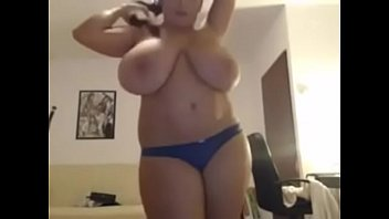 tits big tanlined Sexy topless whipping