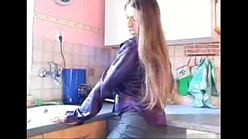 tina frank busty hairy Tender girl inez in kitchen