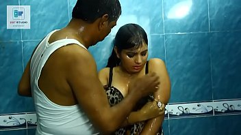 blue indian slim4 figure saree Hot indian step getfucked by father