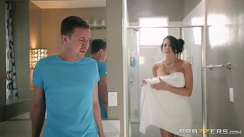shower stepmom forced son Holly west doctor