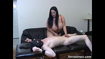 his rubs she cock ass her between cheeks Danni daniels dominates couple