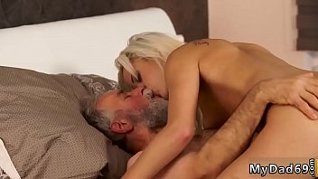 it hurt dad Lesbians take turns fingering and licking each others bald pussies