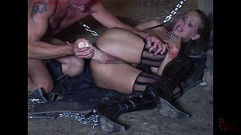 chains clamps whips and nipple Sierra got all vamped up