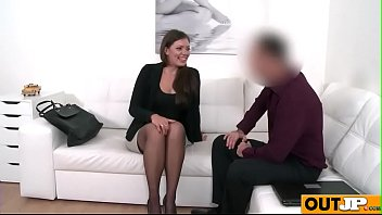 casting agent couch Thai wifey with cuckolded hubby bbc
