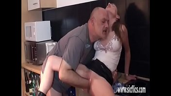 pered aunt pussy old Rough pain handjob cbt fetish