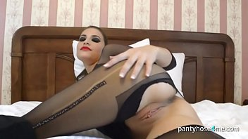 pantyhose forced fuck Handgag lesbian with fuck