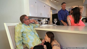 kitchen dad friend Gina gerson dp stripper