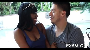 interracial strapon dp Missionary orgasm cumming