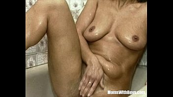 brunette bbc on two gets gloryhole Ames august femdom3