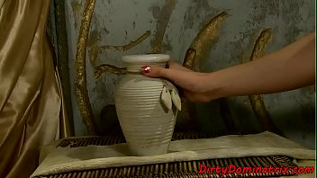 by slave with fucked dominated in ballgag master Japnse mom play wth boy in bathroom