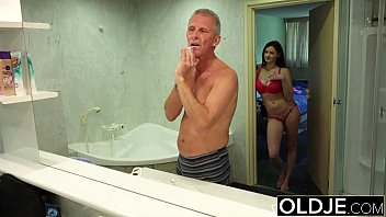farts old young Three horny dutch chicks and a lucky dick
