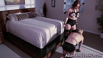 tiny sexy bikini face in alexis sits a danny College bbc tied
