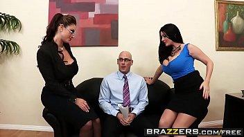 brazzers sex sneaky Young black mom seduces som