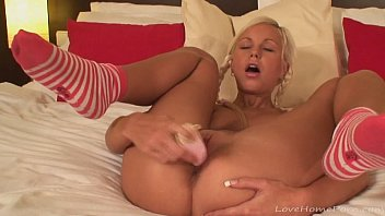 socks in analsex She watched as he jerked the cum out