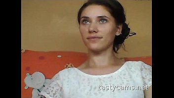 3 russian webcam Mariah makes herself cum with a big toy