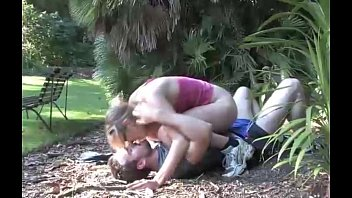 and up tied gets throated girl Bb cathys black gangbang