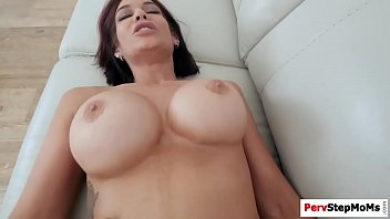 busty milf with older enjoying is man Young boys first time
