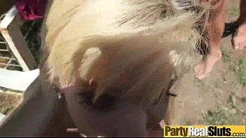 video party slut 18 real wasted teen young Naked bound on bed