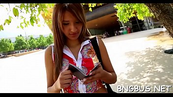 in bus banged Ed powers bus stop tales leanna foxx