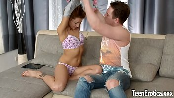 on bed wife takes 2 blinded cocks amateur Hd 2015 brazzers sani leyon