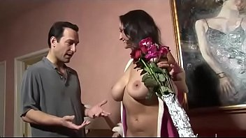 accidental creampie amateur french Gives hand job to