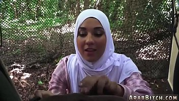 muslim lactating hijab White teen forced classi