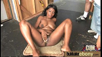 wives gangbang interracial with French post op shemale