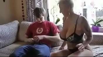 seducong son step He gets first blowjob