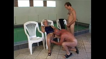 fucks granny freddie Red nails cum