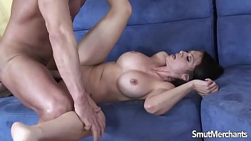 loves brunette covered get to sexy girl Amanda in red
