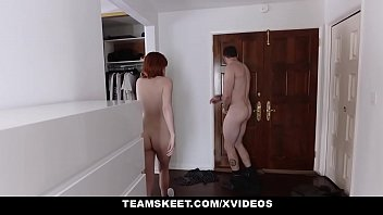 outside it doing naked working is out redhead teen and gets Braless mamoka nishina