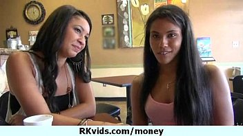 carte money la al talks She gets to be groped and handles naked dick
