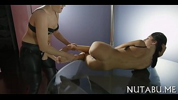 her two wet asian crack by expended dudes gets Pov nice bare footjob
