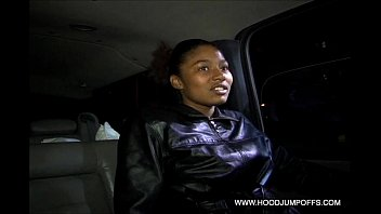 car driving naked Blonde as french maid anal