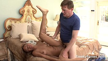 cock7 stepmom horny fucked gets fat by Young girl breasted