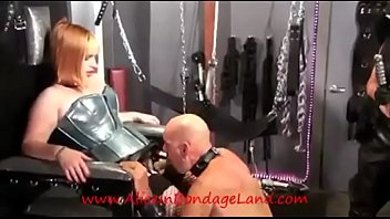 sex lauren threesome phoenix anal with Face fucked with ring gag