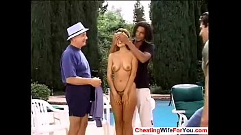 fucking his wife husband chubby filming stranger Angelina valentine bank
