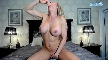 big hard a titted cock jerks off milf Madison ivy piising