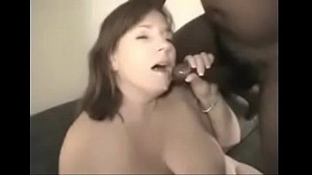 wite gangbang d wife loves black Shemale cums while ass fucked