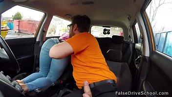 gear german shift car Valentina nappi fucks with two guys