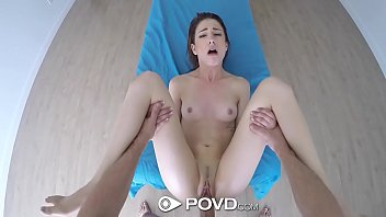two brunette a for dicks Big tits mom give handjob for her son
