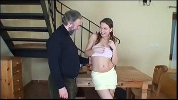 young girl man7 old takes of care Mature couple fuck in sextape